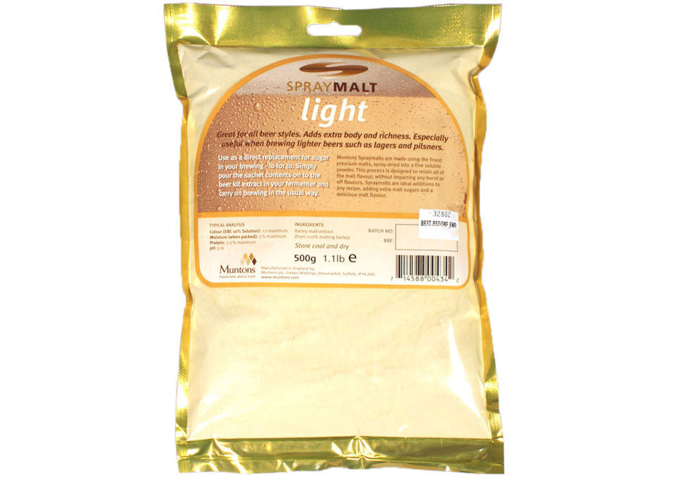 Muntons Spraymalt Light 500g