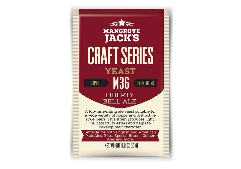 Mangrove Jack's M36 Liberty Bell Ale Yeast 10g