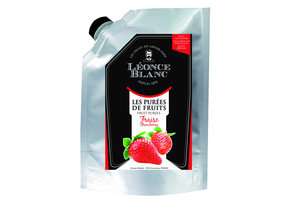 Léonce Blanc Puré Strawberry 1kg