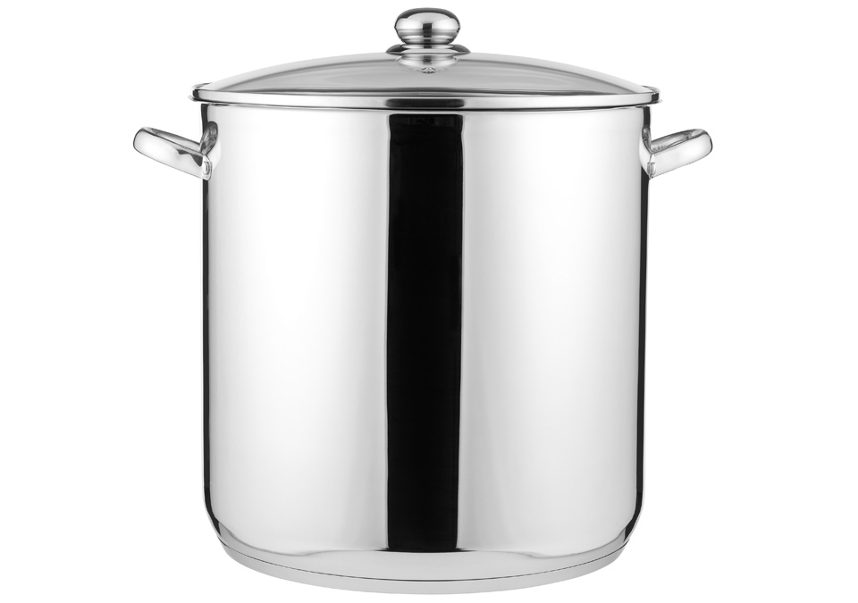 Pot 30L with lid&scale
