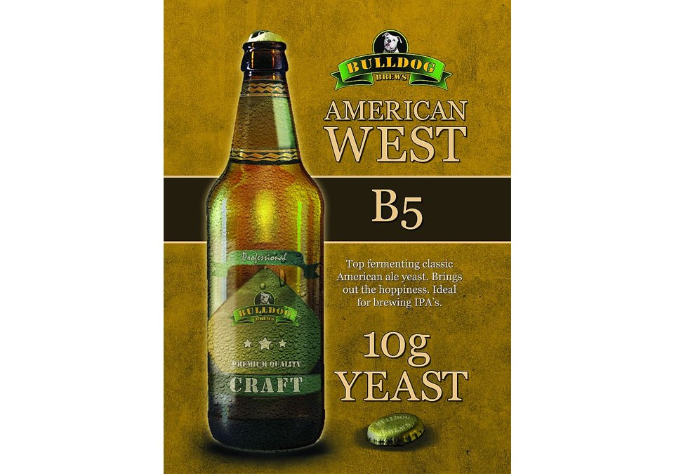 Bulldog B5 American West Yeast 10g