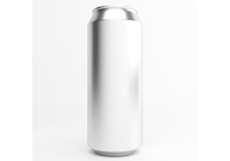 Cans 50cl Silver 207-pack