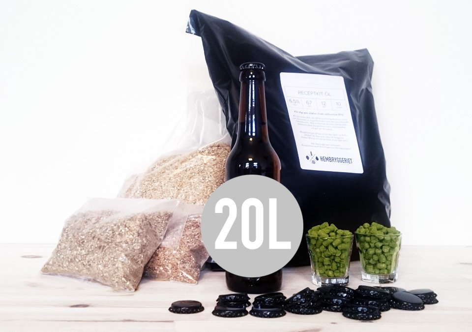 Hallertauer Lager 5% Recipe Kit 20L