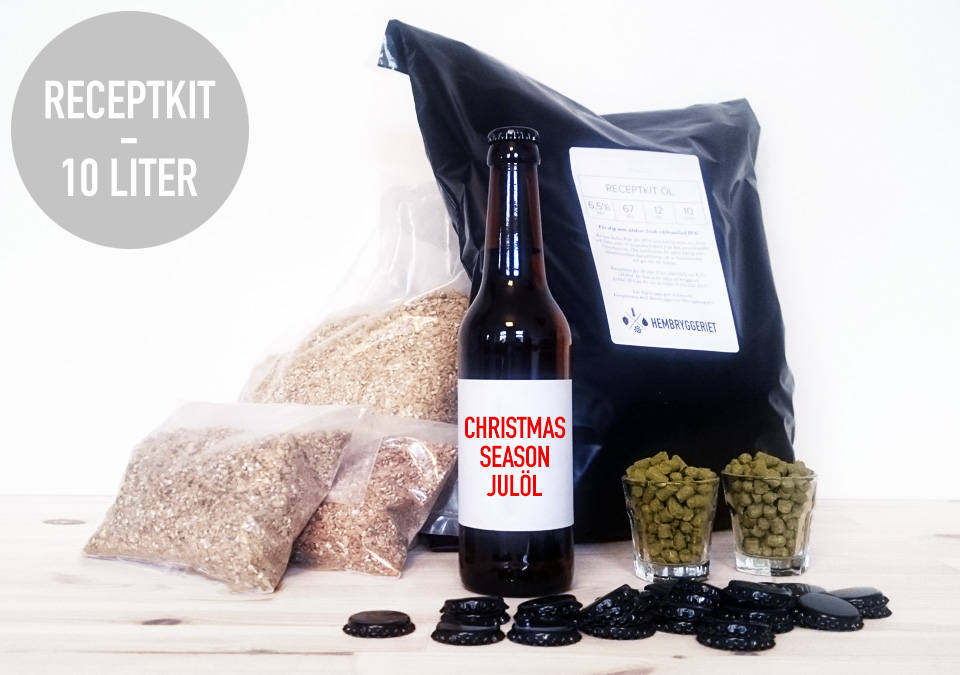 Christmas Season 6% Receptkit